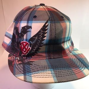 Explicit One Size Cap Blue Red White